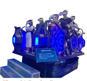 Virtual Reality Earthquake VR Ride Simulator Shooting 9D Motion Arcade SEE VIDEO