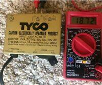 TESTED GOOD! TYCO HO-Scale Train POWER PACK Model 899V HOBBY TRANSFORMER-AC/DC
