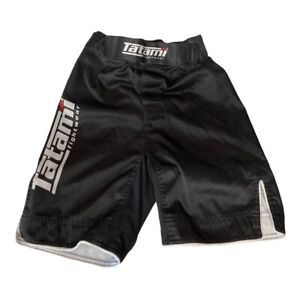 Tatami Fightware Short MMA Kids No Gi Grappling Pant Youth Medium black