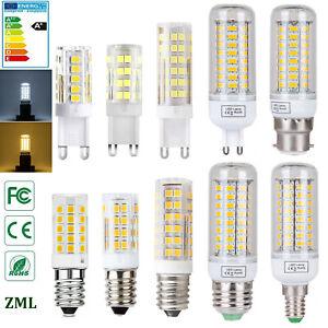 E27 E14 B22 G9 LED Corn Bulb 5W 8W 15W 20W 25W 5730SMD Replace Incandescent 220V
