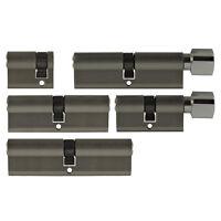 5x Tür Zylinder Schloss 40-100 mm gleichschliessend +5 Schlüssel Schliessanlage