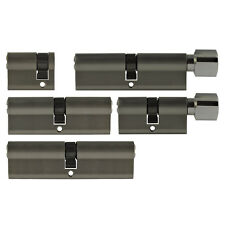 5x Door Cylinder Lock 40-100 MM Keyed Alike +5 Key Locking System