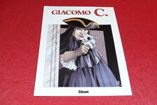 [BD COLLECTIONS] GIACOMO C. / PLAQUE TOLE EMAILLEE GLENAT 30x40 HC