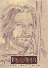 Lord of the Rings LOTR Masterpieces sketch Zapata