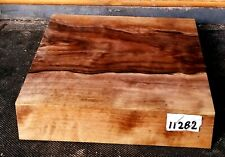 FIGURED CLARO WALNUT LATHE WOOD 8.5 X8.5 X2 TURNING LUMBER 11282 BOWL BLANK