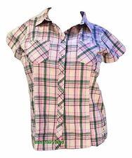 John Deere Size M Western Shirt Womens JD Green 23775252 $36.00
