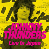 Johnny Thunders : Live in Japan CD Album with DVD 3 discs (2017) ***NEW***