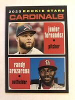 Randy Arozarena 2020 Topps Heritage Rookie Stars #216 Cardinals Rays RC HOT!!!