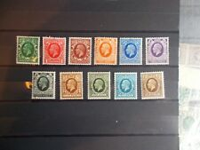 GV 1934 Photogravure Complete Set of 11 Values 1/2d to 1/- Superb Mint Cat £95