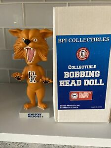 Kentucky Wildcats Mascot Bobblehead, Preowned