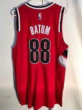 Adidas Swingman NBA Jersey Portland Trailblazers Nic Batum Red sz 2X