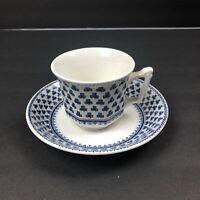 Vintage Wedgwood Micratex Adams English Ironstone Tea cup & Saucer
