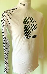 Protest Men's L/S Rash Guard SPF/UPF50+ sizes M & XL New with tags was £25😎
