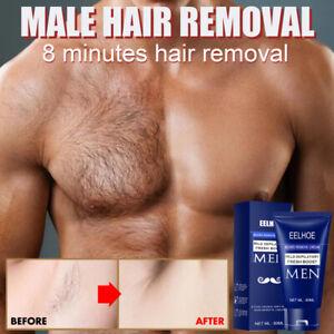 Men's Body Hair Removal Cream Hand Leg Hair Loss Depilatory Cream 60ml HOT SALE