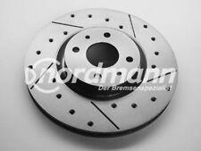2 discos freno deportivos Perforado y Ranurado von intercar AUS ITALI para FIAT
