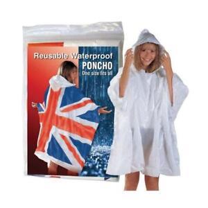 Union Jack Waterproof Poncho