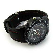 Spy Watch DVR Camera 8GB Hidden Video Cam SpyCam Covert Surveillance