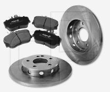 2 Bremsscheiben und 4 Bremsbeläge MERCEDES CKlasse W202 vorne 284 mm voll