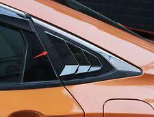 Carbon fiber style Side Vent Window Scoop Louver Trim For Honda Civic 2016-2018