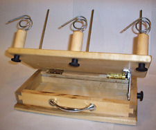 Nancy's Knit Knacks Anything But Lazy Kate Yarn Spinning Bobbins Plying Tool