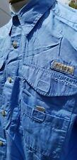 Mens Medium Columbia Proformance Fishing Gear Button down shirt