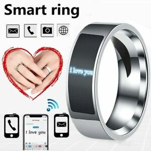 NFC Smart Finger Digital Ring Wear Connect Android/Phone Fashion Equipment F0B7