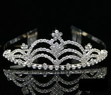 Wedding Bridal Bridesmaid Flower Girls crystal tiara crown / headband 005
