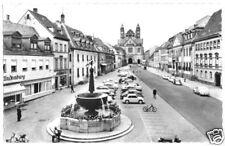 AK, Speyer a. Rhein, Hauptstr. mit Kriegerdenkmal, 1965