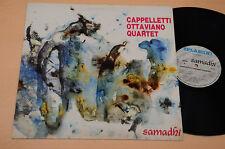 CAPPELLETTI OTTAVIANO QUARTET LP 1°ST ORIG ITALY MODERN JAZZ NM ! UNPLAYED !