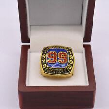 WAYNE GRETZKY NHL HALL OF FAME Ring SIZE 10.50 W/WOOD DISPLAY BOX