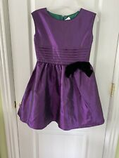 American Girl Party Dress Sleeveless Purple Retired Girls Size 10 NWT Retail $68