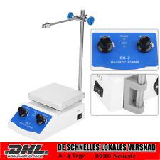 Labor Magnetrührer Heizung Heizplatte SH-2 Rührgerät Mixer Stirrer Rührstab