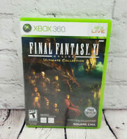 Microsoft Xbox 360 Final Fantasy XI Online The Ultimate Collection Video Game