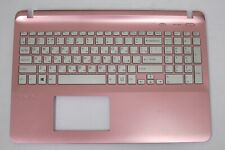 New Sony Vaio SVF1521C5E Pink Palmrest Russian Keyboard A1960335A