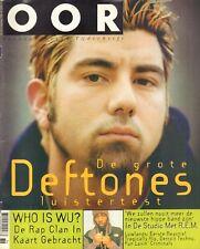 MAGAZINE OOR 1998 nr. 18 - DEFTONES/R.E.M./MAVERICKS/FUN LOVIN' CRIMINALS