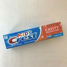 NEW Crest Kid's Cavity Protection Sparkle Fun Fluoride Anticavity Toothpaste