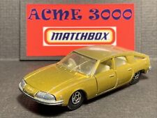 1969 Matchbox Lesney Superfast - No56 BMC 1800 PININFARINA - Gold - Play Worn