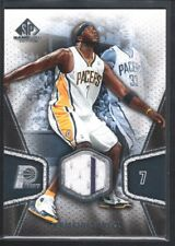 JERMAINE O'NEAL 2007/08 SP GAME USED #123 JERSEY INDIANA PACERS SP