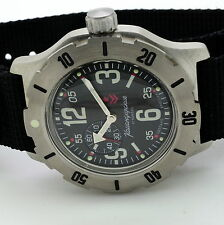 RUSSIAN VOSTOK (# 350748) MILITARY AUTO WRIST WATCH KOMANDIRSKIE