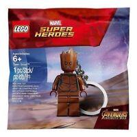 Lego Minifigure Teen Groot Keychain NEW! Marvel Super Heroes Avengers