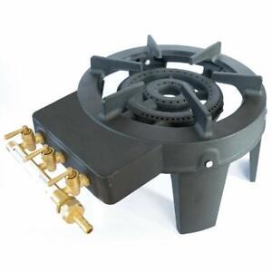 Cast Iron Burner Triple Ring Gas Stove 9.8 KW…