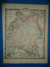 24x36 Vintage Reproduction Civil War Map Caroline County VA 1862