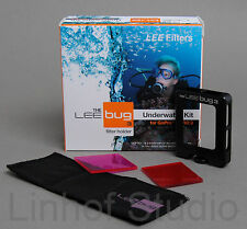 Lee Filters Bug Gopro Submarina Kit Para Hero 3 Rojo, Magenta Filtro, Titular