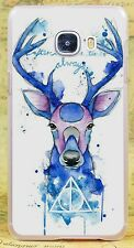 Harry Potter Deer Logo Style Rigid Case Cover Coque Fundas For All Phone Models