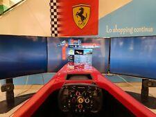 Simulatore Guida F1 Con 3 Monitor