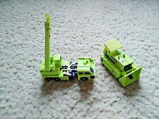 Vintage G1 Transformers CONSTRUCTICONS DEVASTATOR Lot - HASBRO 1980s
