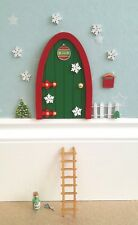 Christmas fairy elf door,ladder, Snowflakes,elf props, put on the shelf