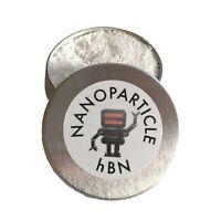 Nanoparticle hBN - hex Boron Nitride - high temp nano powder dry lubricant 10ml
