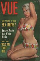 Vue Digest June 1954 Eden Hartford June McCall Cheesecake Pin Up 070819AME