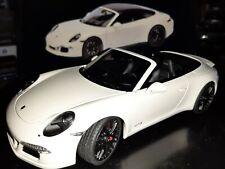 Schuco  Porsche 911 (991) Carrera GTS Cabriolet/  1:18 / white/ OVP